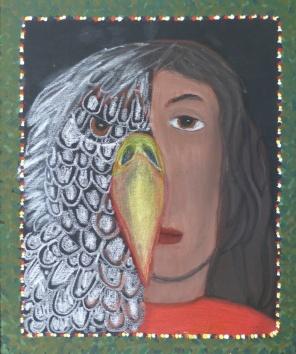 Eagle Woman by Ariana Poyirier