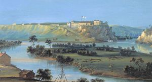Fort Snelling 1844 (Photo from Wikipedia)