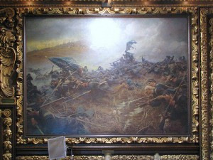 The Battle of Nashville painting.