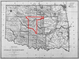 The Unassigned Lands in 1855.