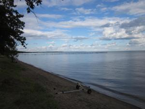 According to an 1855 Treaty, the south shore of Lake Mille Lacs is part of the Mille Band of Ojibwe Reservation. So are the cities of Isle and Wahkon; Kathio State Park; the Bayview community