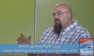 Jim Bear Jacobs on SPNN's news show, Forum.