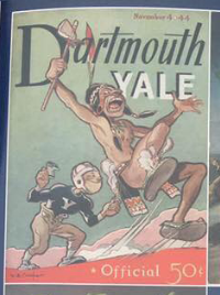 Another former Yale-Dartmouth football program cover.