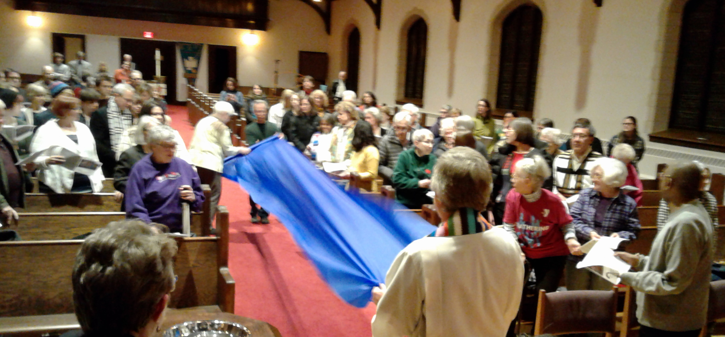 A Native American Celebration on Thanksgiving Eve at Lutheran Church of the Redeemer in St. Paul.