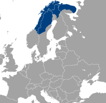 Sápmi is the name of the cultural region traditionally inhabited by the Sami people. (Image: Wikimedia Commons)