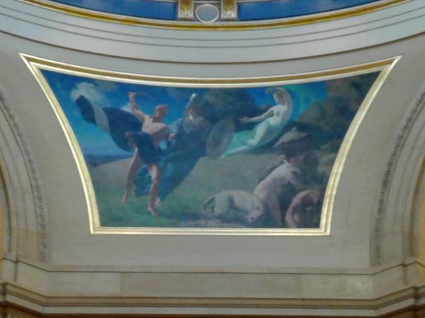 "Rotunda Lunette #2 in the ""Civilization of the Northwest."